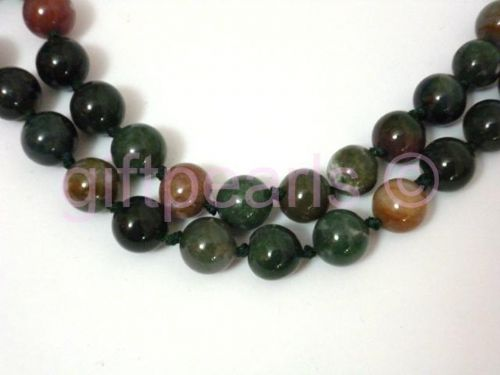 Jade and Jasper necklace.